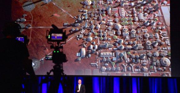 Specialioje kameroje atkurtos gyvenimo Marse sąlygos – gyvybė joje klesti