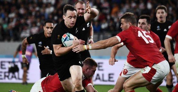 Pasaulio čempionato bronza – Naujosios Zelandijos regbininkams