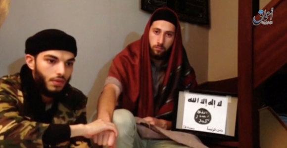 Prancūzijos bažnyčios užpuolikas grasino šaliai vaizdo įraše