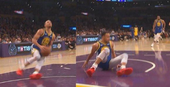NBA juokiasi iš Stepheno Curry – blogiausios 5 sekundės karjeroje?
