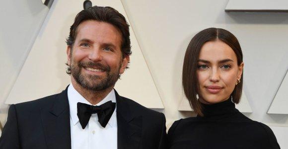 Irina Shayk ir Bradley Cooperis išsprendė svarbų skyrybų klausimą: susitarė dėl dukters globos