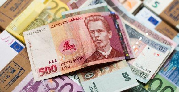 Jurbarko r. balduose rastas lobis: darbininkas iškeitė litus į eurus ir juos pasisavino?