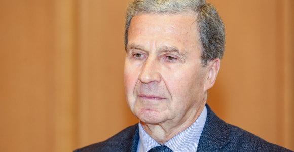 V.Sinkevičius neabejoja, kad byla dėl Vyriausybės įgaliojimų būtų nagrinėjama skubiai