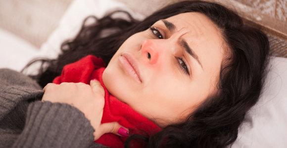 Klaidos, kurias darome gydydami gerklės skausmą
