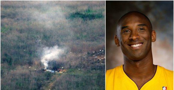 Atskleidžiama daugiau detalių apie Kobe Bryanto žūties aplinkybes ir sraigtasparnį