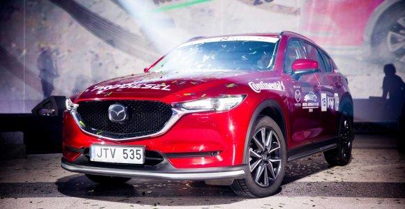 """""""Metų automobilis 2018"""" – """"Mazda CX-5"""""""