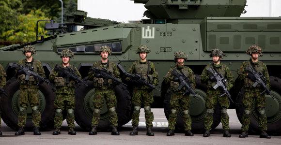 Pasitikėjimas kariuomene – didžiausias per 14 metų