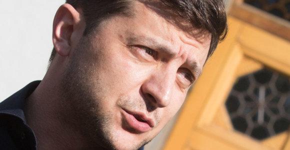 V.Zelenskis: Ukraina norėtų išspręsti dujų tranzito iš Rusijos klausimą jau rugsėjį