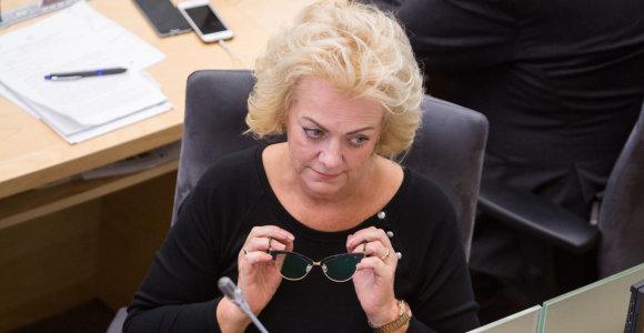 Seimo komitetas nagrinės VSD medžiagą dėl I.Rozovos veiklos