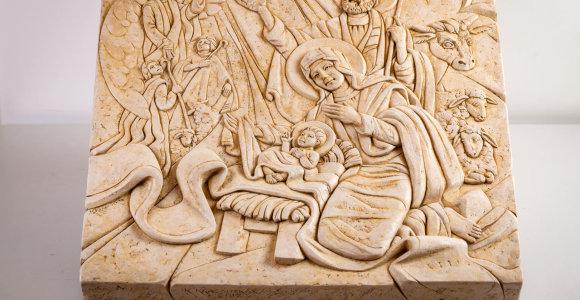 Kalėdų prakartėlės: Jėzaus gimimą lietuvių menininkai perteikia itin originaliai