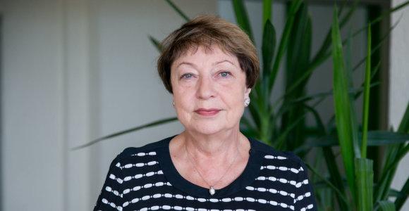 Marija Burinskienė apie tramvajų ir kitą transportą Vilniuje: reikia savo įpročius laužyti