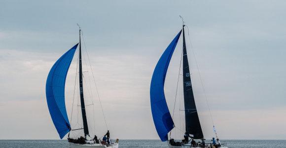 """""""NEXT"""" jachtos kapitonas Marius Ambrulaitis: sėkmę varžybose lemia ne tik įgula, bet ir geras laivas"""