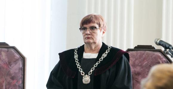 Sausio 13-osios bylą išnagrinėjusi teisėja A.K.Macevičienė išėjo į pensiją