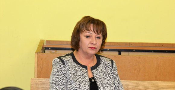 Dėl prekybos poveikiu nuteista eksprokurorė R.Aliukonienė kreipėsi į EŽTT