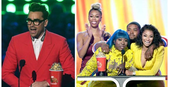 """MTV kino ir televizijos apdovanojimuose – """"Keršytojai. Pabaiga"""" triumfas: susižėrė daugiausia statulėlių"""