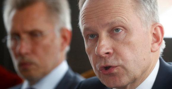 """Korupcija kaltinamas Latvijos centrinio banko pirmininkas Ilmaras Rimševičius neatsistatydins: """"Mane grasino nušauti"""""""