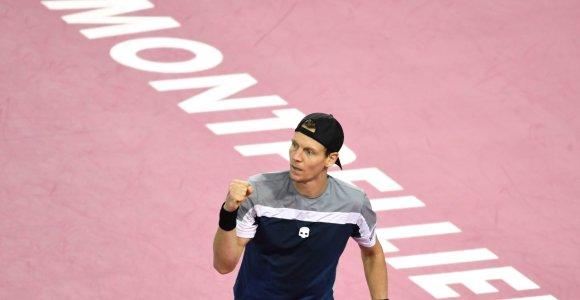 ATP Monpeljė: T.Berdychas ir J.W.Tsonga prasibrovė į pusfinalį