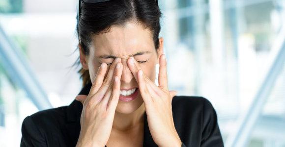 Migrena – rimta liga: latvių mokslininkė apskaičiavo, kad ji Lietuvai kainuoja šimtus milijonų