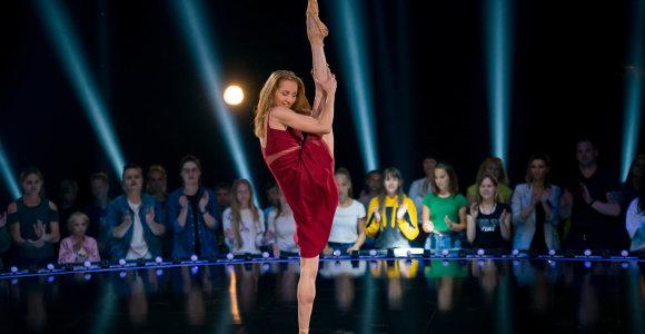 Šokių projekte – Auksinį scenos kryžių pelniusi primabalerina Olga Konošenko