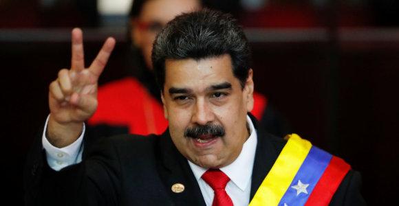 Europos šalys rengiasi paskelbti sankcijas Venesuelos pareigūnams, įskaitant N.Maduro
