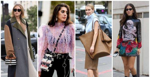 Paryžiaus mados savaitė: ryškiausios gatvės stiliaus tendencijos