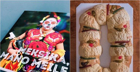 """Knygos """"Meksika, mano meile"""" autorės receptas: autentiškas meksikietiškas Trijų Karalių pyragas"""