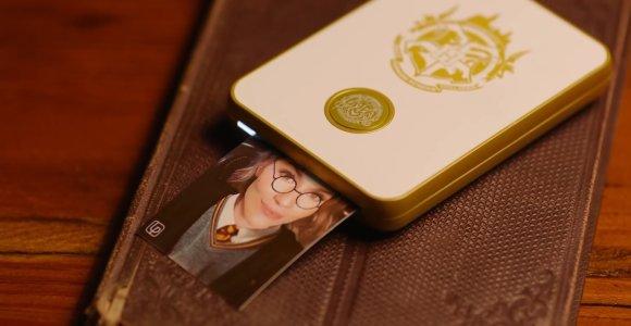 Specialiai Hario Poterio gerbėjams sukurtas judančių nuotraukų spausdintuvas