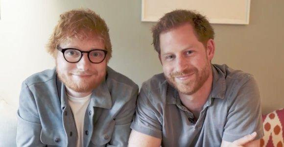 Mylimiausi rausvaplaukiai Edas Sheeranas ir princas Harry suvienijo jėgas ypatingam projektui