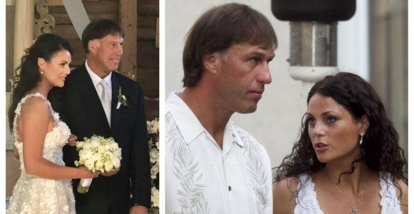 """Šarūnas ir Laura Marčiulioniai po 7 metų santuokos meilę įteisino bažnyčioje: """"Kai Dievas sujungia"""""""