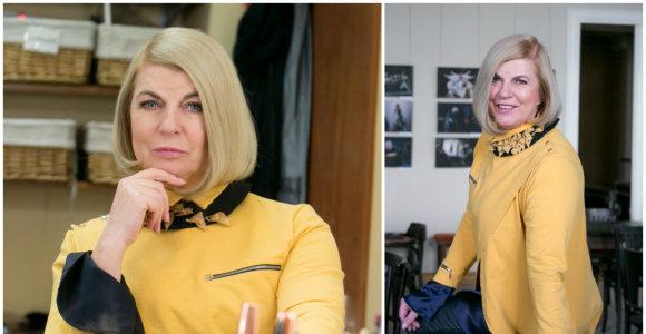 """Nijolei Narmontaitei – 60: """"Reikia kaip futbole įjungti planą """"Vėtra"""" ir dar daug padaryti"""""""