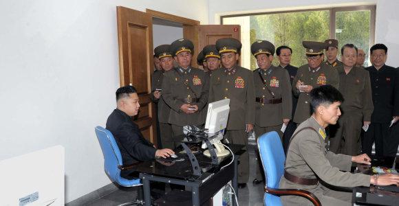 """Šiaurės Korėjos hakeriai iš """"Kimsuky"""" grupės atakavo Rusijos karinius objektus"""