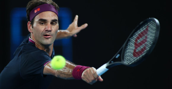 Viens, du ir baigta: Rogeris Federeris antrajame mače Melburne neužtruko
