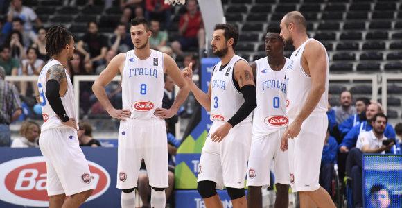Smūgis Italijos rinktinei – Europos čempionate nežais du senbuviai