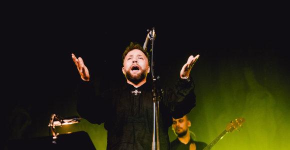 Kai lieka tik muzika: Sauliaus Petreikio koncertas Šv.Kotrynos bažnyčioje