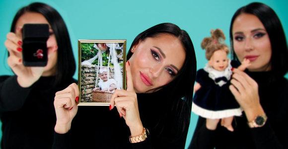 """""""Daikčiukuose"""" Vasha parodė Karolinos Meschino jai rašytą laišką ir pripažino ieškanti naujos meilės"""