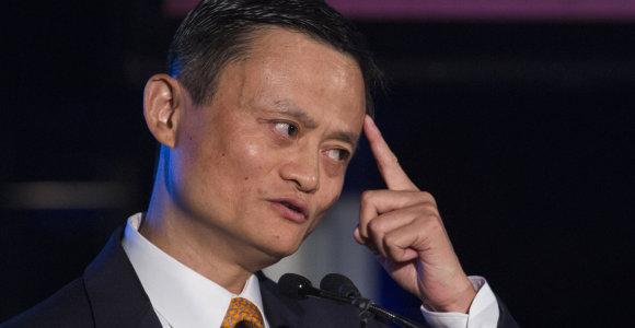 """""""Alibaba"""" įkūrėjas Jackas Ma: žmonės ateityje galėtų dirbti 12 valandų per savaitę"""
