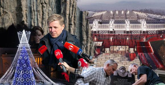 Vilniaus metai: nuimtos ir vėl kabintos lentos bei nacionalinio stadiono viltis