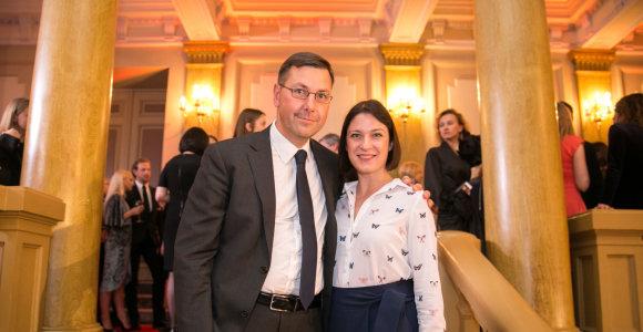 Gintaras Steponavičius vedė trečią kartą: susituokė su mylimąja Vaide Žygutyte