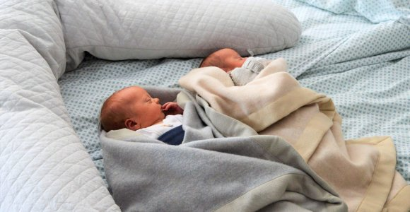Kauno klinikinėje ligoninėje per tris paras gimė trys dvynukų poros