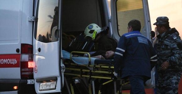 Rusijos Rostovo mieste kilus gaisrui daugiabutyje žuvo mažiausiai penki vaikai