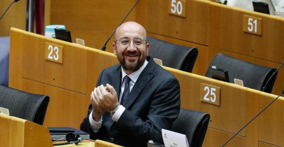 Europos Vadovų Tarybos pirmininkas Ch.Michelis gali dalyvauti G-7 viršūnių susitikime
