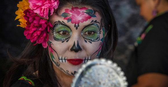 Mirties kultas Meksikoje: svarbiausia metų šventė nustebins ir daug ko mačiusius