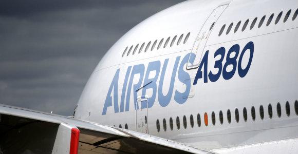"""""""Air France-KLM"""" planuoja įsigyti 60 naujų """"Airbus"""" lėktuvų bei atsisakyti """"A380"""""""