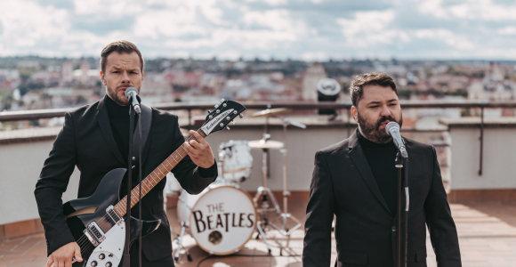 """Populiariausios """"The Beatles"""" dainos – ant Vilniaus stogų"""