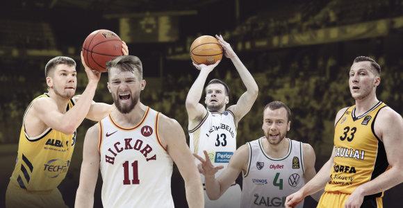 Didžiausią šuolį atlikę lietuviai: nuo proveržio LKL iki užgimusios žvaigždės NBA