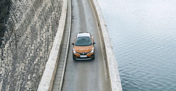 """Naujasis """"Renault Captur"""" – jau ne vien dizaino lenktynės"""