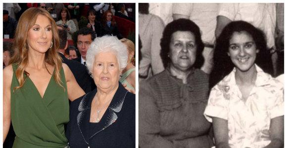 Skaudi netektis Celine Dion šeimoje: būdama 92-ejų mirė mama, parašiusi jai pirmą dainą