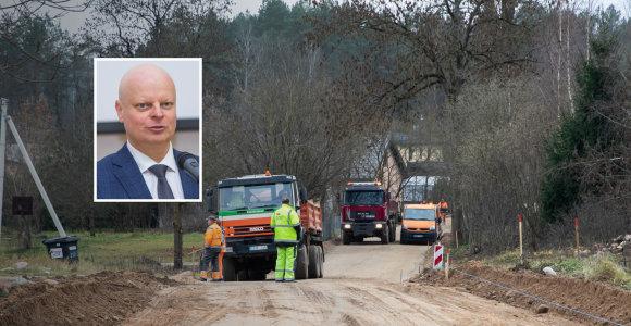 Iš Vilniaus rajono keliams Vyriausybės skirtų 300 tūkst. eurų 299,9 tūkst. atiteko S.Skvernelio gatvei