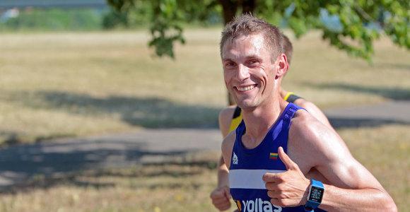"""Pasaulio čempionato normatyvą įvykdęs Remigijus Kančys: """"Nesitikėjau, kad galiu bėgti taip greitai"""""""