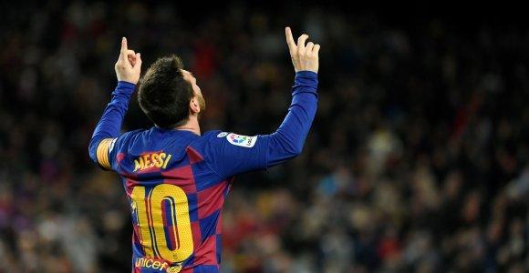 Prestižiniuose sporto apdovanojimuose – L.Messi, L.Hamiltono ir S.Biles triumfas